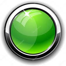 Glossy Button Stock Vector Maxborovkov 3417684