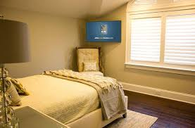 wall mounted tv ideas bedroom stand
