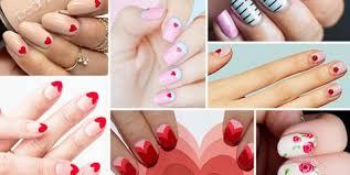 Pink Nail Art Design 30 Best Valentines Day Nails Hot Nail Art Design Ideas