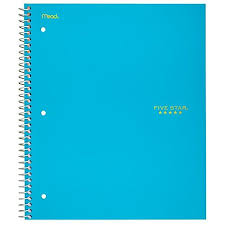 Five Star Spiral Notebook 1 Subject Graph Ruled Paper 100 Sheets