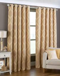 Arch Ready Made Eyelet Curtains Gold Free Uk Delivery Terrys