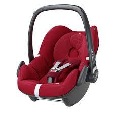 maxi cosi pebble baby car seat robin red