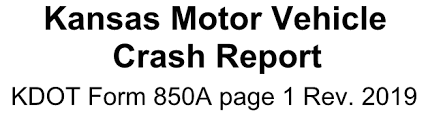 Law Enforcement Crash Report Coding Manual