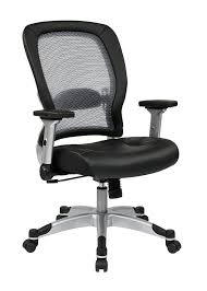 office star professional air grid deluxe task chair. 327 Series Professional Light Air Grid® Back And Eco Leather Seat Chair. Adjustable Lumbar Office Star Grid Deluxe Task Chair C