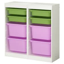 trofast storage combination whitemulticolour xx cm  ikea