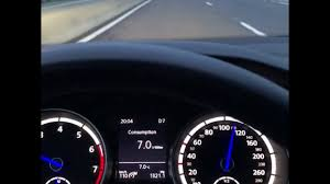 Golf 7R DQ500 7 speed DSG fuel consumption test - YouTube