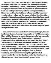 chinese religion confucianism taoism and buddhism at com essay on chinese religion confucianism taoism and buddhism