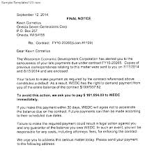 Delinquent Account Letter Template Accounts Receivable Collection Letter Template Accounts