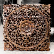 wood carved wall decor india