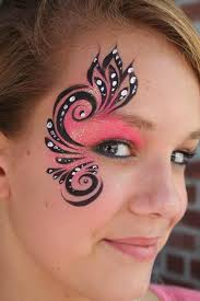 simple tribal face paint designs creative