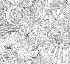 Flower Color Sheets Geometric Flower Coloring Pages Coloring Pages