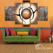 popular modern wall art 55 rs and planet pattern hanging canvas waterproof and eco friendly