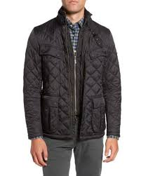 Lyst - Barbour International Windshield Quilted Jacket in Black ... & Barbour | Black International Windshield Quilted Jacket for Men | Lyst Adamdwight.com