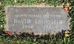 index of ~mainejew headstones bethelmempark sectione ebenstein david e5 1