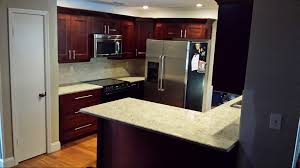 Dark Maple Kitchen Cabinets Angels Pro Cabinetry Tampa Kitchen Cabinets