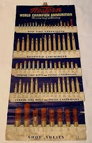 Rare 1950 Western World Champion Ammunition Shells