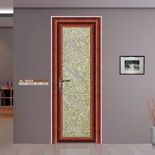 half glass design aluminum frame door aluminum doors
