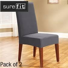 Shop at ebay.com and enjoy fast & free shipping on many items! Buy Sure Fit Stretch Dining Chair Cover 2 Pack Slate Grays Australia