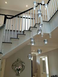stairwell lighting. Chandeliers ~ Extra Long Chandelier Lighting Stairwell