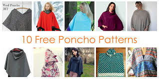 It's Sew Easy Patterns Stunning How To Make A Poncho 48 FREE Poncho Sewing Patterns