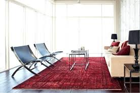 overdyed rug view in gallery red rug in a modern living room overdyed vintage rugs diy