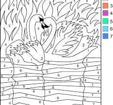 Small Picture Coloring Pages Online Free Color By Number In Property Animal