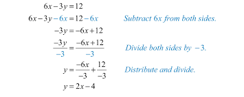 solution to see when given linear equations with two variables