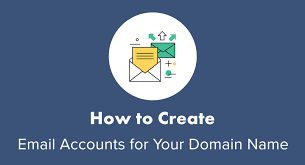 Creat E Mail How To Create Email Accounts For Your Domain Name