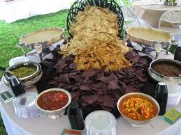 louise s weddings events wedding chips and salsa bar