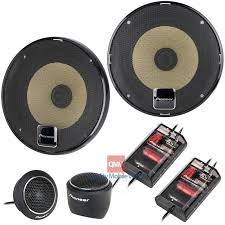 pioneer 5 1 speakers. pioneer ts-d1330c component speaker package - main 5 1 speakers