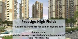 Lavish home in Prestige High Fields Hyderabad, 3 BR, 4070 ft²