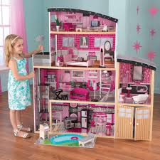Sparkle Mansion Wooden Dollhouse ...