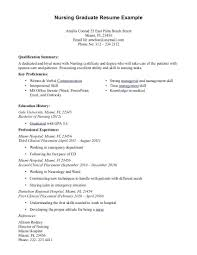 Examples Of Nursing Resumes Awesome School Nurse Resume Examples Nursing Graduate Resumes 48 48 Of