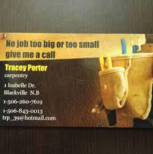 Tracey Porter Carpentry - Home | Facebook