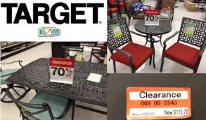 patio furniture clearance. Target: Patio \u0026 Outdoor Furniture Up To 70% Off + Cartwheel Savings Offers \u003d Lots Of Great Deals \u2013 Hip2Save Clearance F