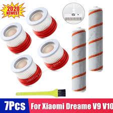 Dành Cho Xiaomi Dreame V9 V9B V10 Hộ Gia Đình Không Dây Máy Hút Bụi Cầm Tay  Phụ Kiện Bộ Lọc Hepa Cán Bàn Chải Phần Bộ|Vacuum Cleaner Parts