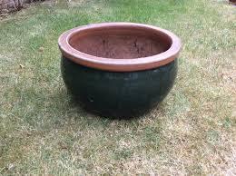 extra large ceramic garden planters pot