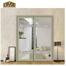 cayoe hot glass aluminium sliding door design iron front door design
