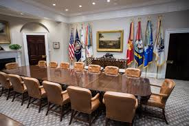 west wing oval office. New Grey And White Carpet Brought A Fresh Look To The Roosevelt Room West Wing Lobby, Oval Office Facelift Included Swapping Out Mid-century M