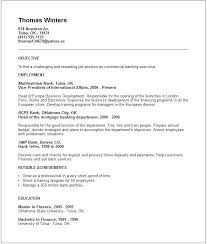 Sample Banking Resume Cover Letter Entry Level Bank Teller Resume ...