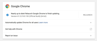 what s in the latest chrome update