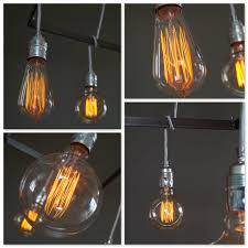 Edison Hanging Lamp Cornice Incl 4 Bulbs In 2019