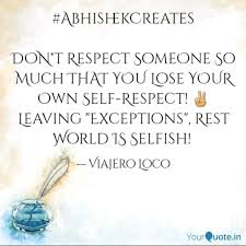 Quotes About Losing Someone Simple AbhishekCreates DON'T R Quotes Writings By Comedian Abhishek