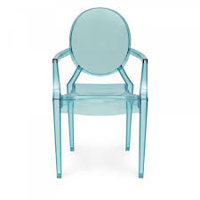 style blue louis ghost armchair