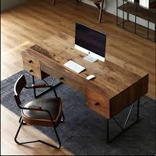 computer desktop furniture. loft office furniture style the old vintage wrought iron wood desk computer desktop