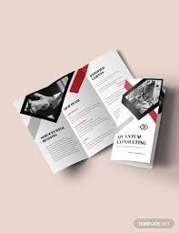 Tri Fold Samples 16 Consultant Brochure Designs And Examples Psd Ai