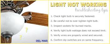ceiling fan light not working troubleshooting tips hunter kit problems