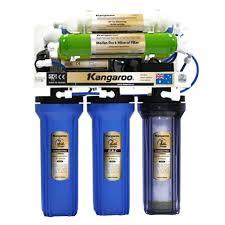 Máy lọc nước RO Kangaroo KG108A với 8 cấp lọc, bổ sung khoáng chất