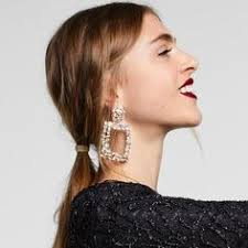 <b>2018 Fashion ZA Jewelry</b> Acrylic Resin Oval Dangle Earrings For ...
