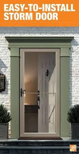 aluminum storm doors exterior doors